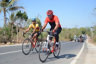 Danrem 162/WB Yakinkan Route Mandalika Gowes 2019