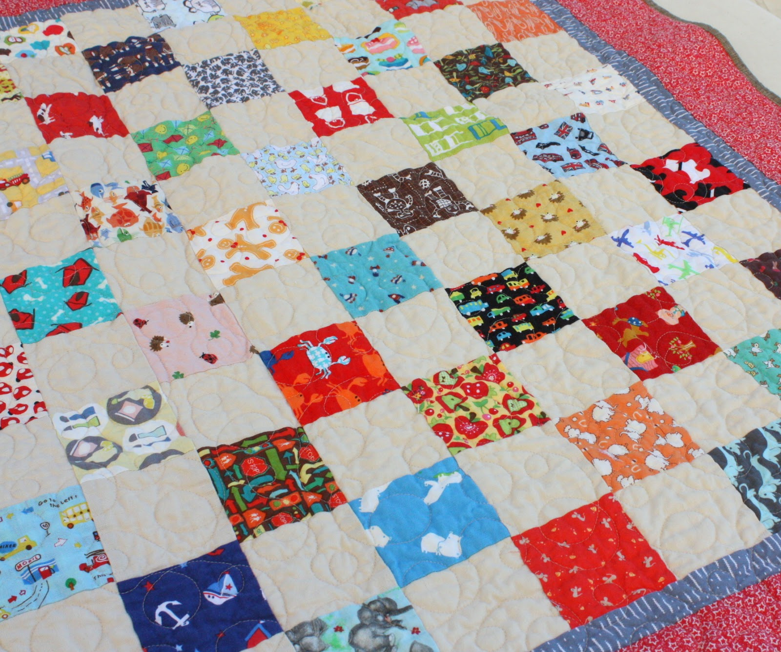 Quilt Patterns 4 Different Fabrics : I-spy Baby Quilt Charm Packs