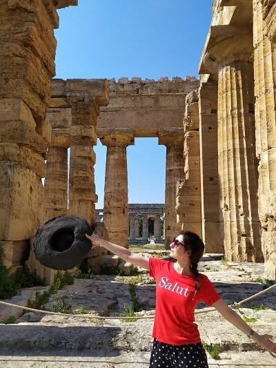 templo de Neptuno en Paestum