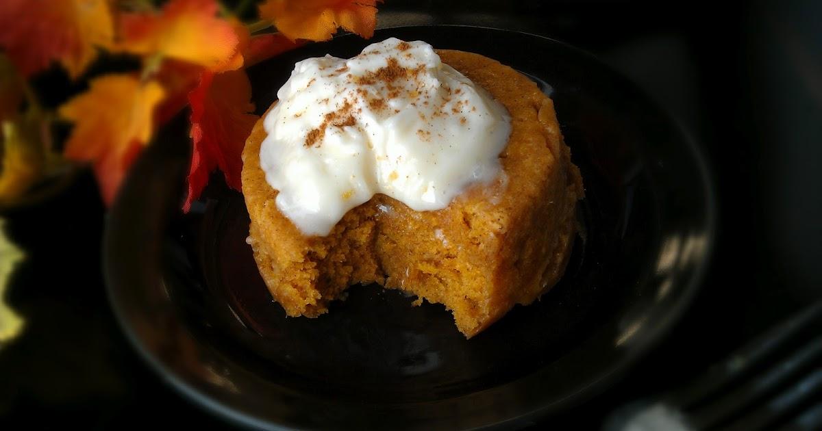 Cake In A Mug Recipes No Egg: Egg Free Bakery: 1-minute Egg Free Pumpkin Cake (aka