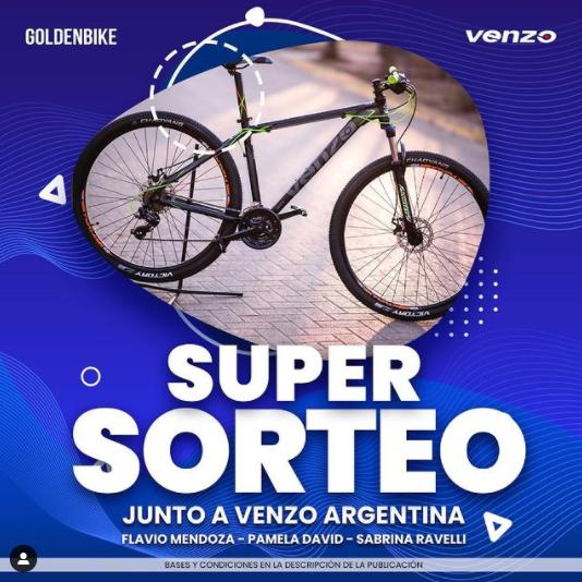 Sorteo Golden Bike