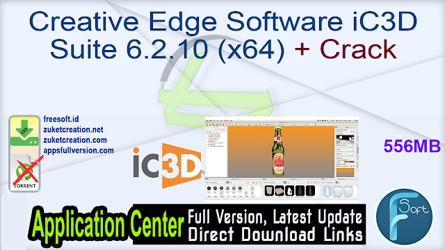 Creative Edge Software iC3D Suite 6.2.10 (x64) + Crack
