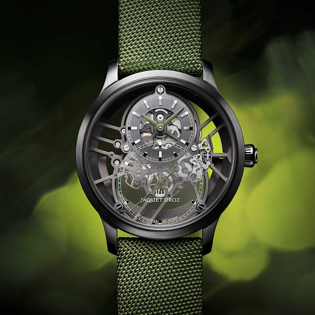 Jaquet Droz Grande Seconde Skelet-One Green (ref. J003525545)