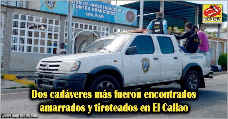 Dos cadáveres más amarrados y tiroteados en El Callao