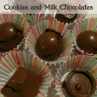 Don't Eat the Paste: Cookie and Milk Chocolate Candies