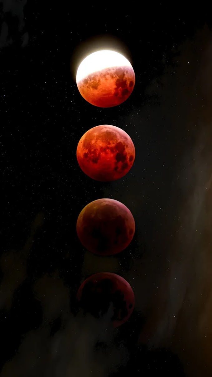 Papel de Parede Celular Eclipse Lunar