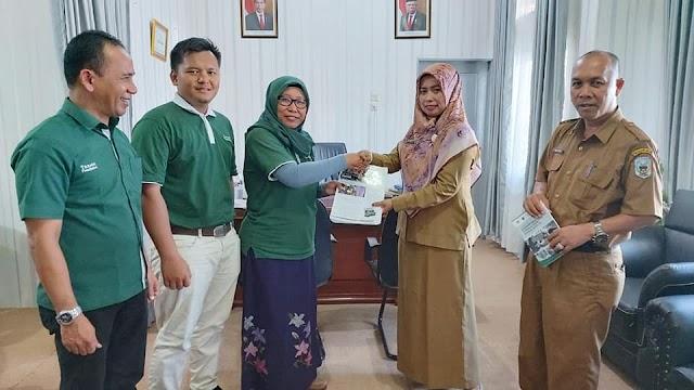 Audiensi bersama Kepala Dinas Pendidikan dan Kebudayaan Kabupaten Sarolangun