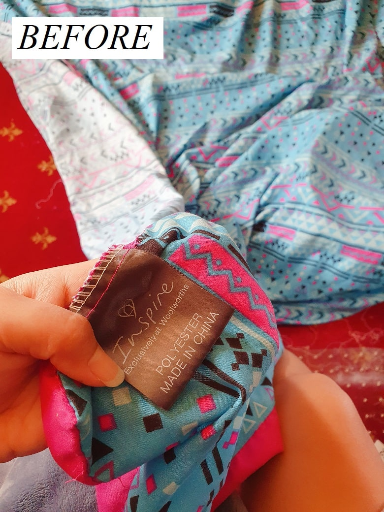 Upcycle Old Duvet Cover, sustainable fashion