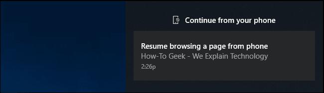 Inviare collegamenti dal telefono al PC