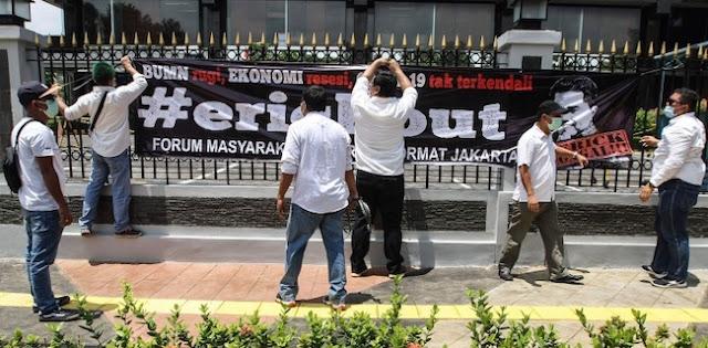Diadukan Ke Polisi Usai Demo Erick Thohir, Format Jakarta: Kami Makin Bersemangat