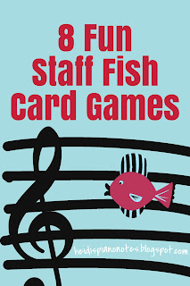Fish Flashcards Games  Teaching Piano