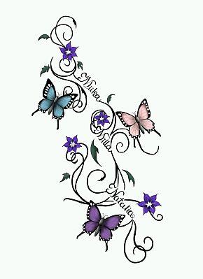 Tatoos Y Tatuajes De Mariposas Parte 11 Imágenes Para Whatsapp