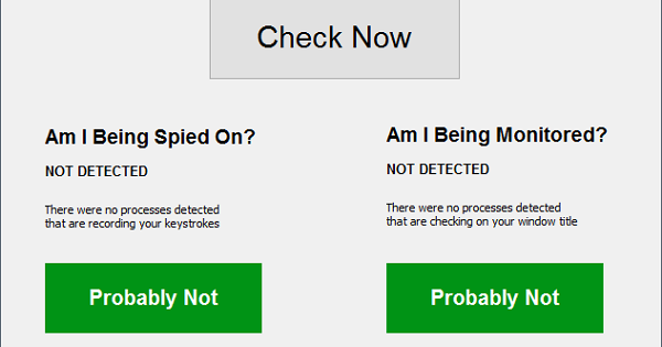 SpyDetectFree برنامج لكشف برامج التجسس على الكمبيوتر الخاص بك