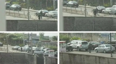 Armed Robbers go on rampage in Lagos traffic