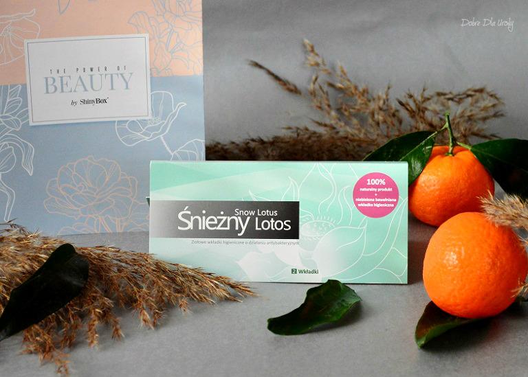 ShinyBox The Power of Beauty - Śnieżny Lotos Ziołowe wkładki higieniczne antybakteryjne