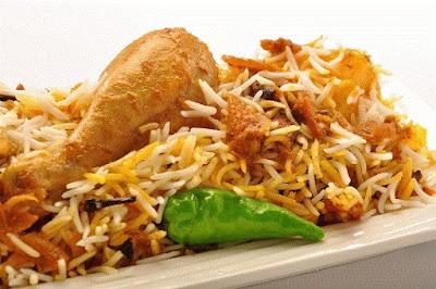 طريقة عمل برياني الدجاج بالطريقة الهندية