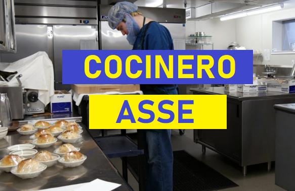 Cocinero -  ASSE