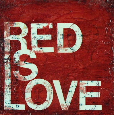 red, love Valentines