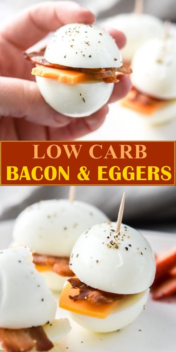 LOW CARB BACON & EGGERS #breakfastideas