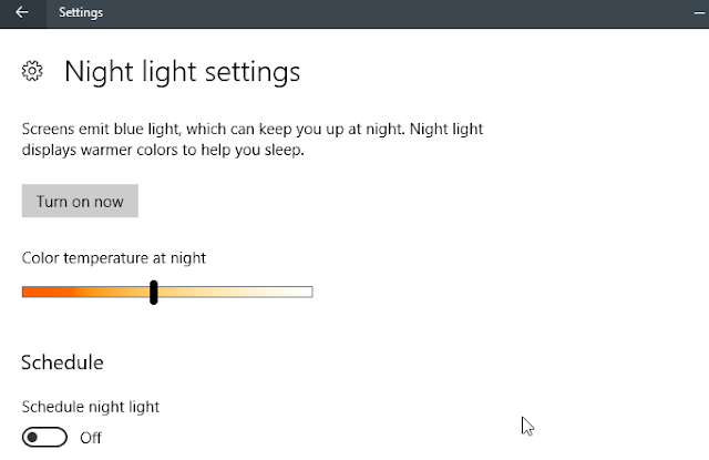 Cara Mengaktifkan Night Light di Windows 10