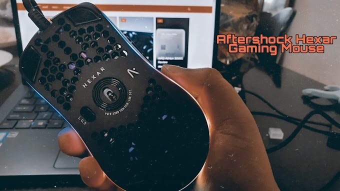 Aftershock Hexar Gaming Mouse Review, Complete with Software