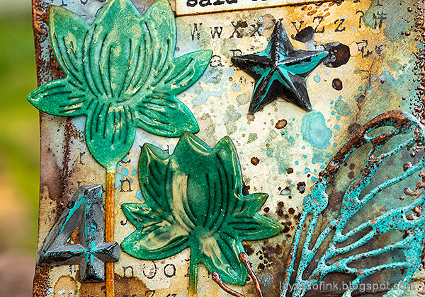 Layers of ink - Grungy Tag Tutorial by Anna-Karin Evaldsson.