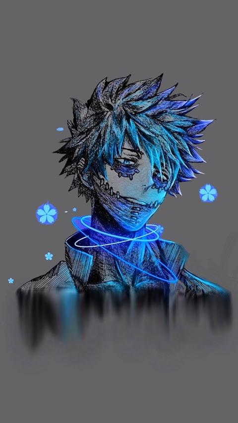 Ảnh Đẹp Hình Nền Điện Thoại Anime Boy Dabi