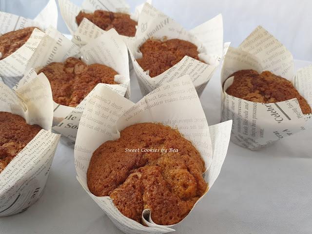 Muffins de té chai