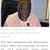 The Joint Admission and Matriculation Board, JAMB 2018/2019 Registration Form for UTME and Direct Entry Candidates is now on sale.