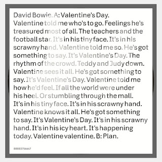 Portada del single Valentine's Day del gran David Bowie
