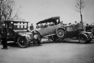 أول حادث سير في التاريخ
