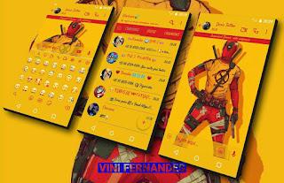 Deadpool Theme For YOWhatsApp & Fouad & NS WhatsApp By Vinícius