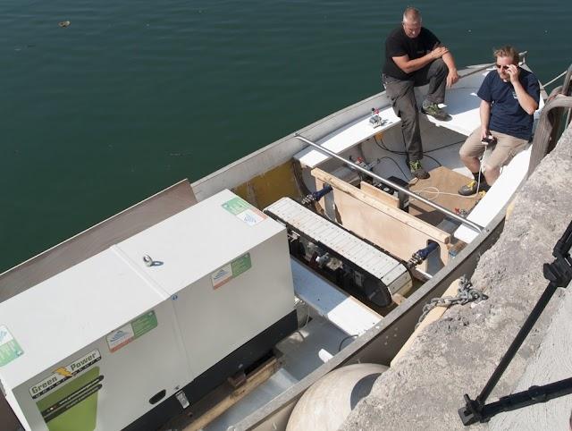 Merlan: sperimentato motore elettrico per imbarcazioni