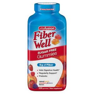 Kẹo Dẻo Bổ Sung Chất Xơ Vị Trái Cây Vitafusion Fiber Well Xách Tay Mỹ