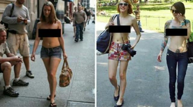В Швеции женщинам разрешили ходить по улице «топлес». В законе есть формулировка «человек, который восприн