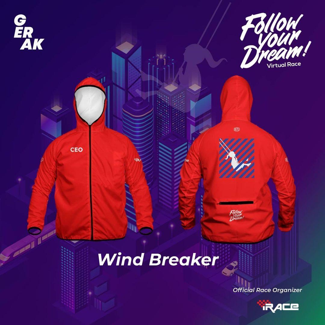 CEO Jaket - Follow Your Dream Virtual Race • 2021
