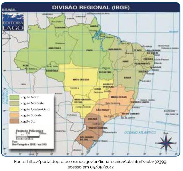 Divisão Regional (IBGE)