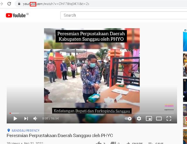 Cara mudah mendownload video apa saja di Youtube tanpa software tambahan
