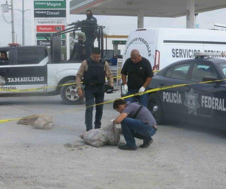 Localizan  dos costales con un desmembrado en Tamaulipas