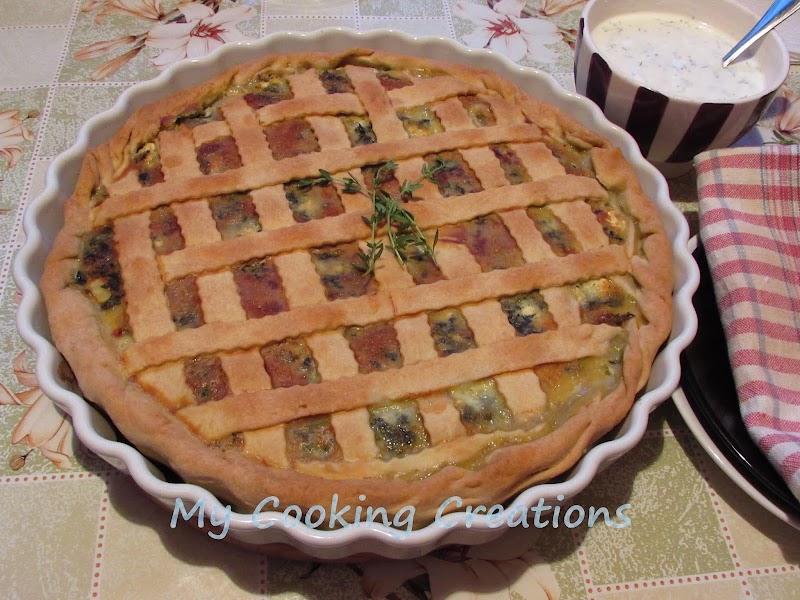 Солен пай със спанак * Torta salata agli spinaci