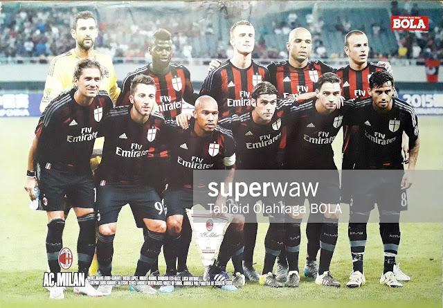 TIM AC MILAN 2015