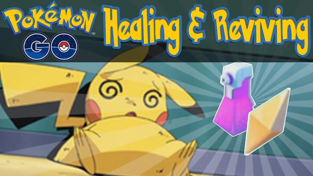 Cara Mengembalikan HP Pokemon GO Saat Kalah Battle GYM, Cara Menyembuhkan HP Pokemon Go, Cara Menambah HP Pokemon Go, Cara Memulihkan HP Pokemon GO.