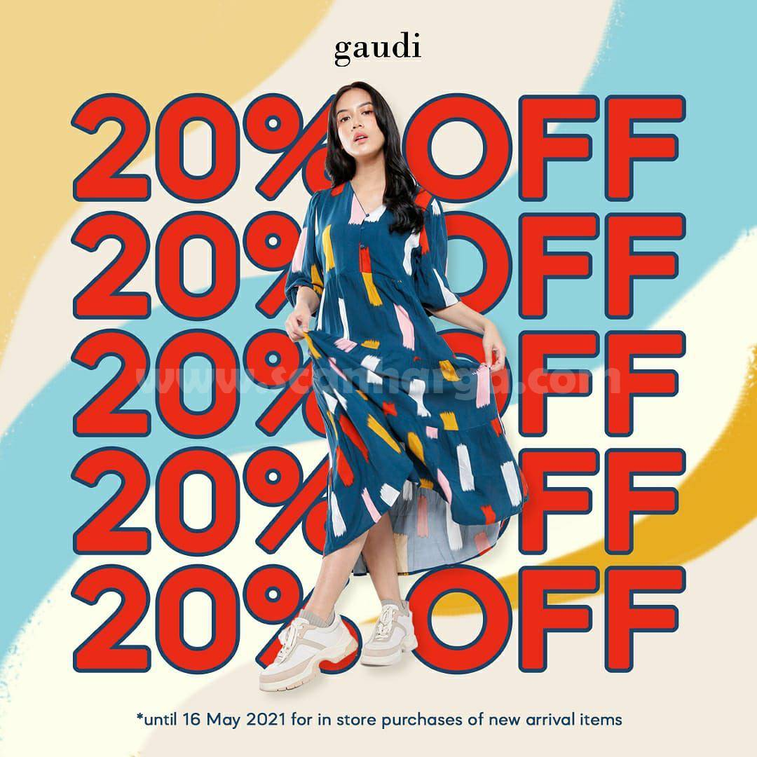GAUDI CLOTHING Promo Sale up to 20% OFF