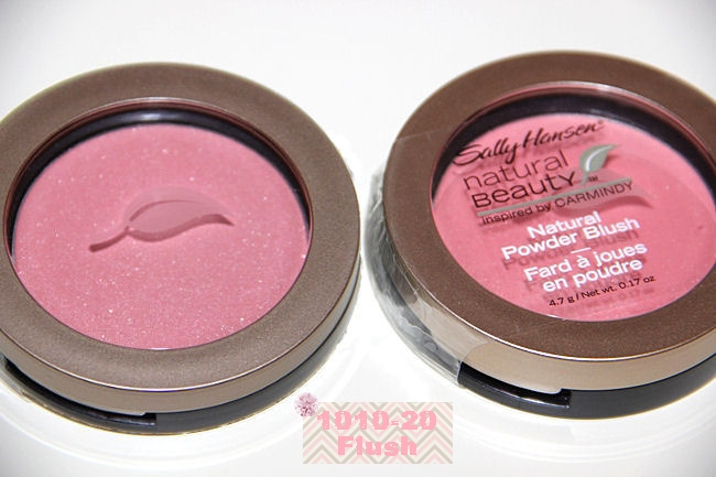 Sally Hansen Natural powder blush in Flush (1010-20)