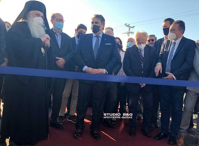 Παρουσία Υφυπουργών εγκαινιάσθηκε στο Άργος το Δημοτικό Κολυμβητήριο