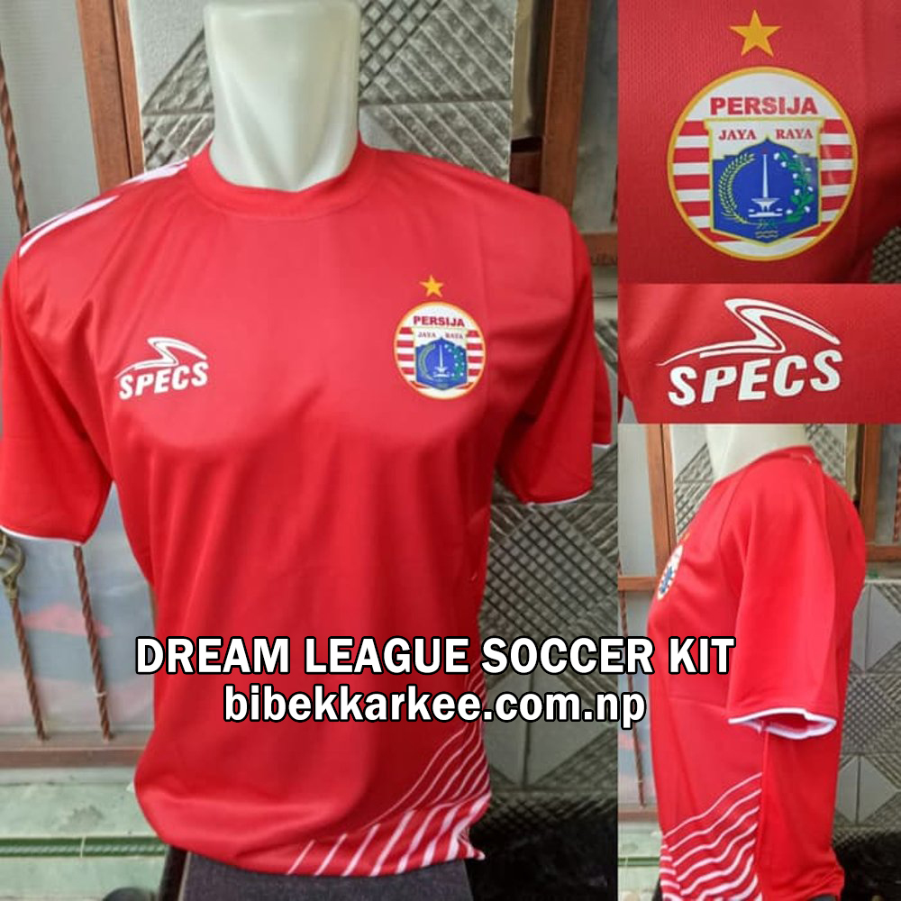 Persija Jakarta Dream League Soccer Kit and Logo for 2019/2020