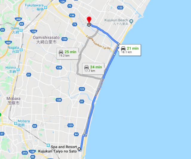 Chiba itinerary