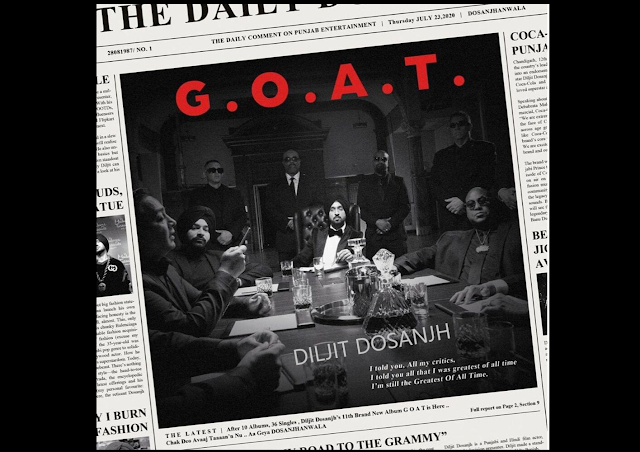 G.O.A.T. Lyrics By Diljit Dosanjh