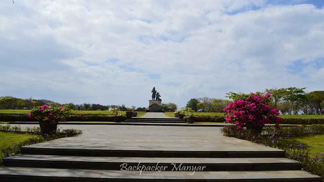 Luasnya area Peninsula Water Blow Nusa Dua Bali