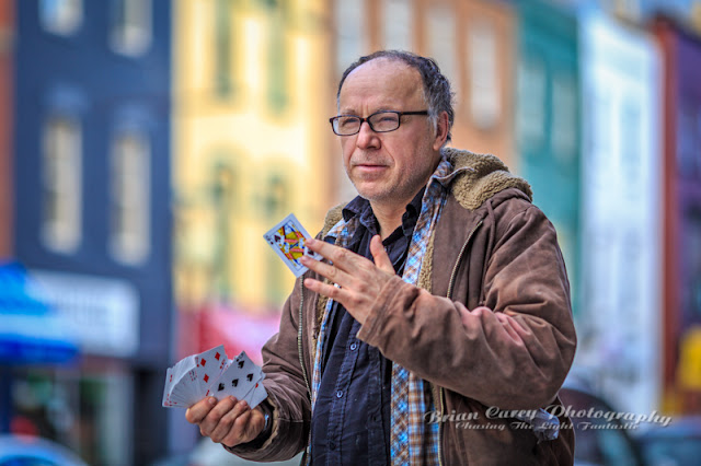 The Card Trick Man by Brian Carey